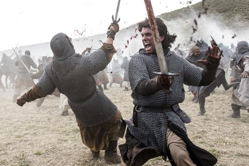 Una escena de «El Cid»