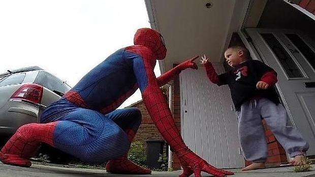 «El increíble SpiderDad»