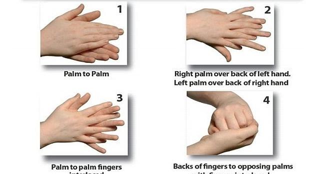 Lavar las manos de forma perfecta es cuestión de 40 segundos