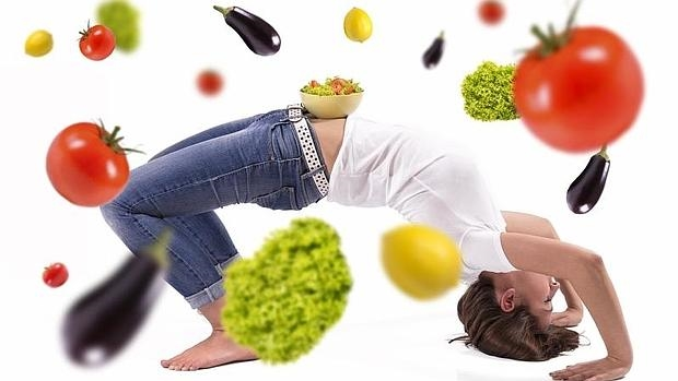 La fibra de los vegetales contribuye a una buena salud del colon