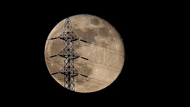 Luna reciente