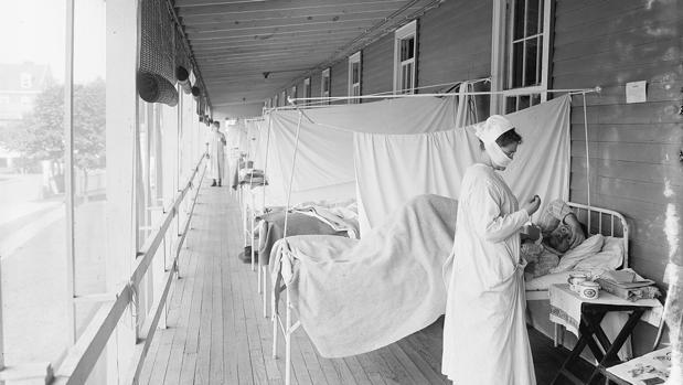 sintomas de la gripe espanola