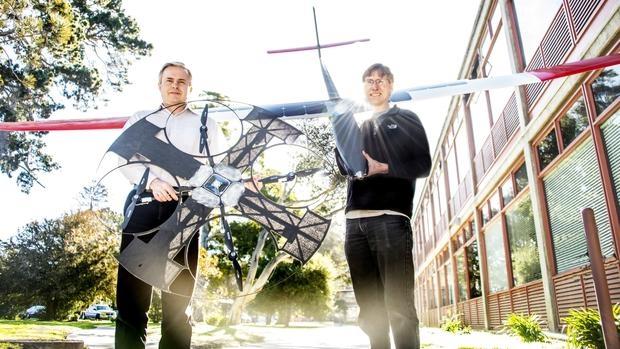 Así es el dron sumergible