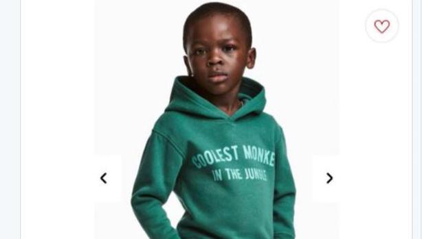 a1c6a07ac7 H&M retira de su web la imagen de un niño negro que lleva una ...