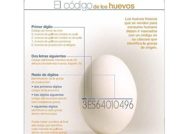 valores nutricionales del huevo de gallina