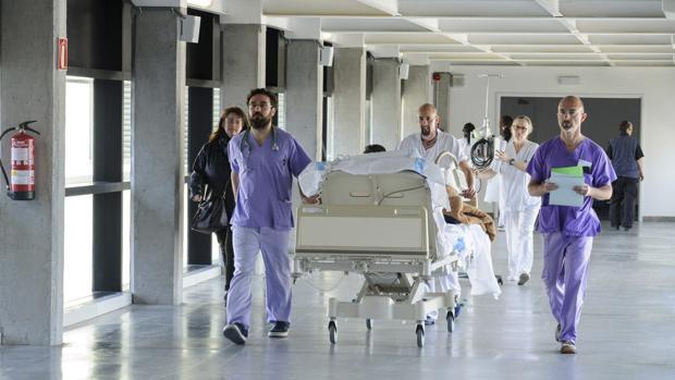 Instalaciones del hospital Can Misses de Ibiza