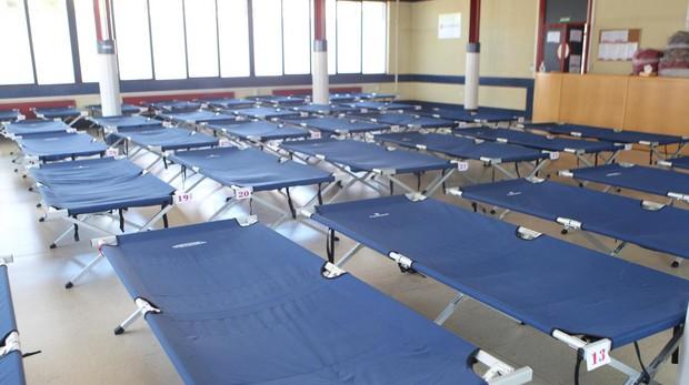 Recurso de Francos Rodríguez I, con 50 plazas de atención humanitaria cedidas a Cruz Roja por el Ayuntamiento de Madrid