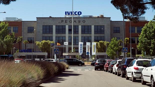 Vista de la sede de la empresa Iveco en Madrid