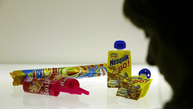 Varios productos de Nestlé, en una imagen de archivo