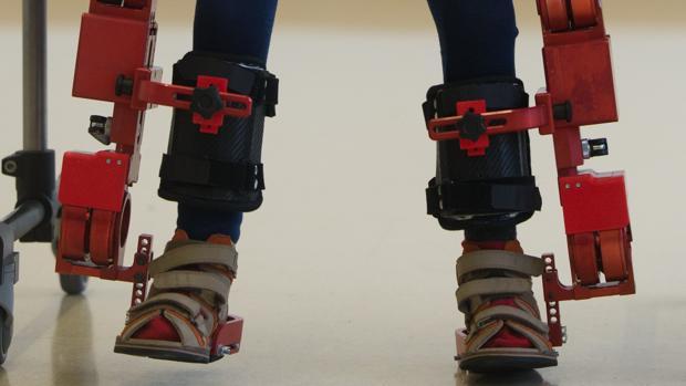 Esoesqueleto similar al que utiliza Álvaro