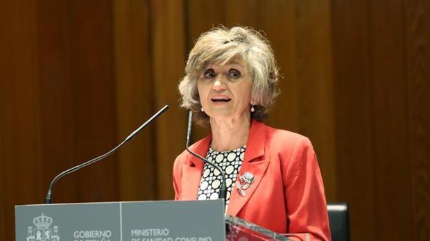 La ministra de Sanidad, María Luis Carcedo