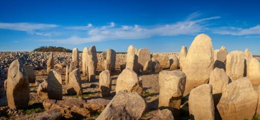 El monumento megalítico