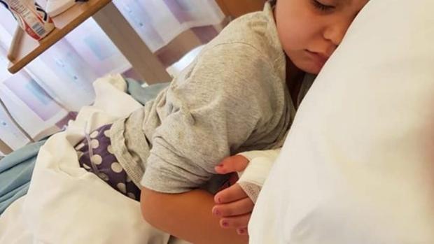 Sienna Rasul, la pequeña de cuatro años con Sepsis