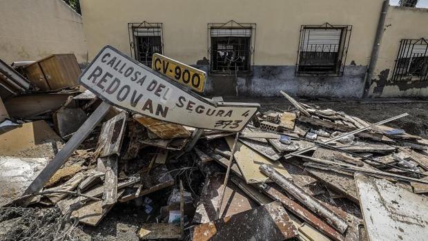 Destrozos provocados por la última gota fría en el levante español