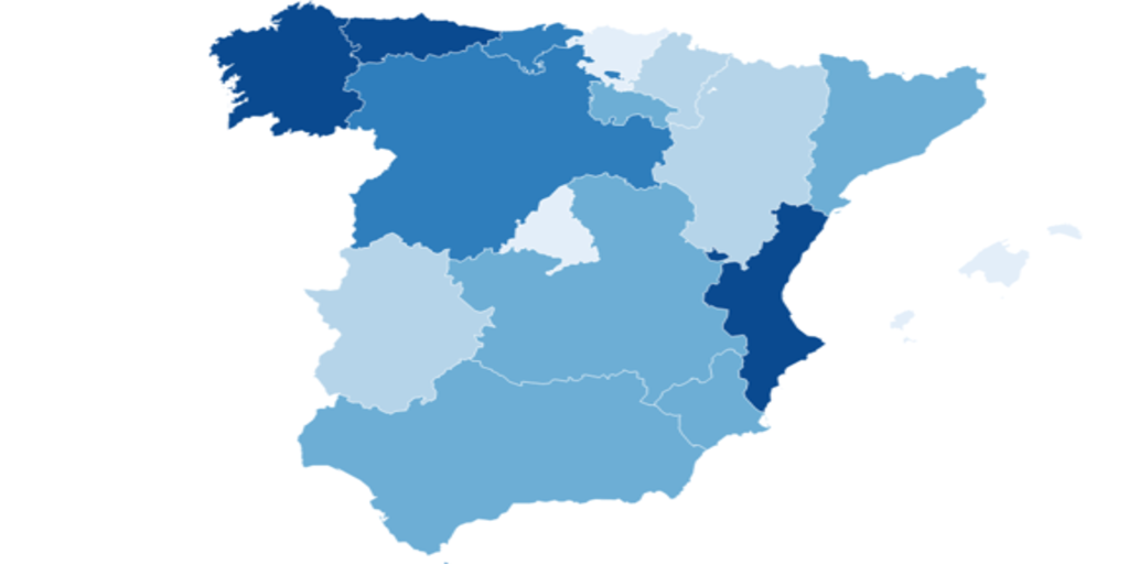 Vacunación en España | Datos y porcentajes de población vacunada de coronavirus por comunidades