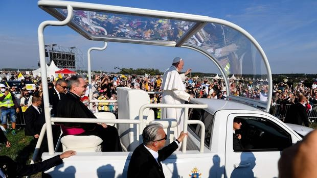 El Papa, esta mañana en Eslovaquia