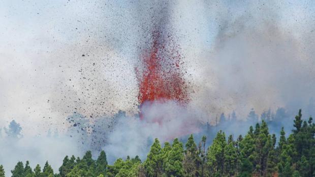 En imágenes: la erupción del volcán en La Palma