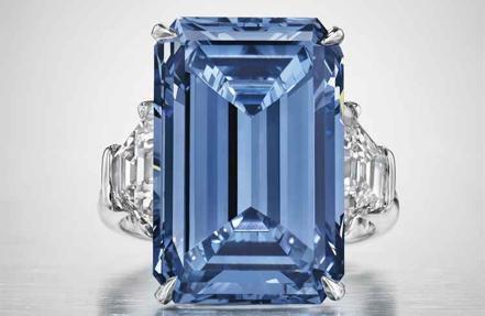 Con sus 14.62 quilates de peso, este diamante alcanzó los 50,6 millones de dólares
