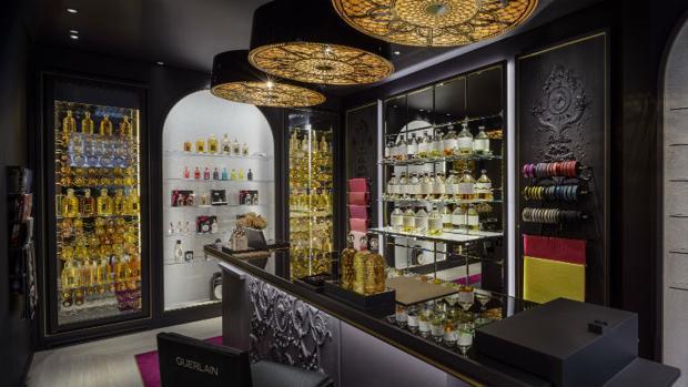 Bouique del perfume de Guerlain