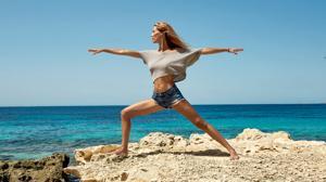 Vanesa Lorenzo: «El yoga me ha cambiado la vida»