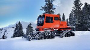 Máquina para desplazarse sobre la nieve
