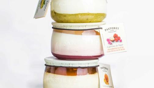 Los Caprichos de yogur de Pastoret