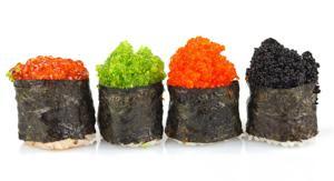 Rollitos de sushi