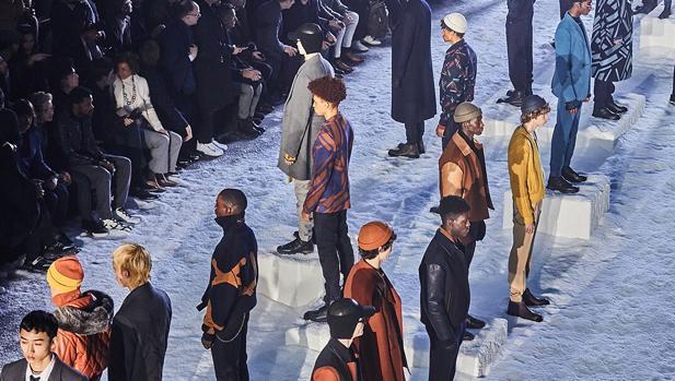 Desfile de la colección otoño-invierno de Zegna