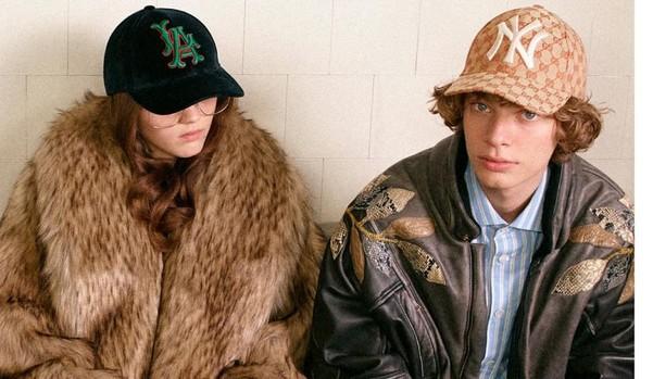 Una de las imágenes de campaña de Gucci