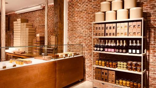 La oferta de turrones artesanales y champagnes del nuevo pop-up de The Pâtissier