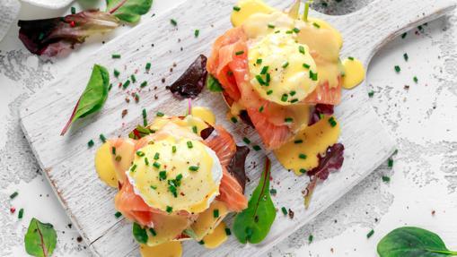 Huevos benedictinos de Casa Suecia