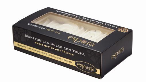Mantequilla dulce con trufa de Espora Gourmet