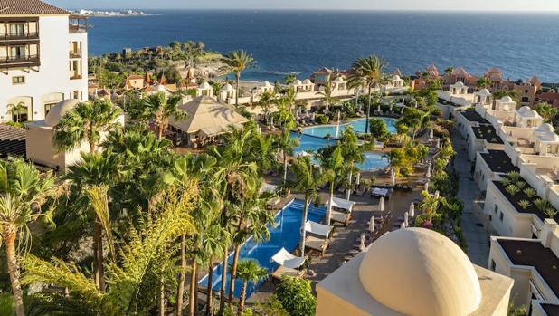 Vistas desde el hotel Vincci La Plantación Sur, en Costa Adeje, Tenerife.