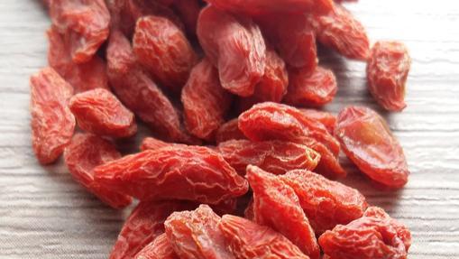 Las bayas de Goji contienen proteínas y antioxidantes