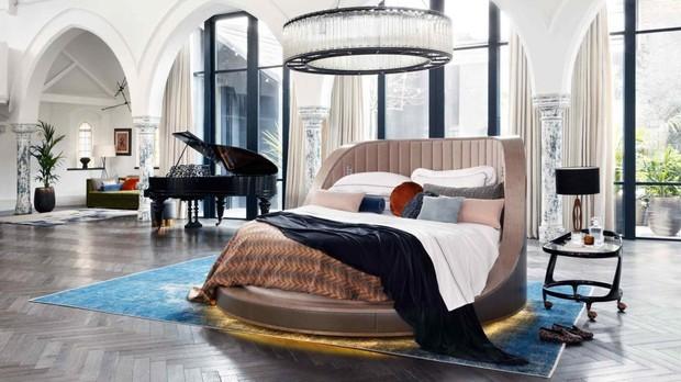 Una cama giratoria