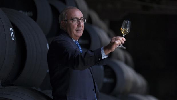 Antonio Flores, enólogo de las bodegas González y Byass