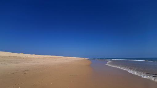 Playa isla de Faro