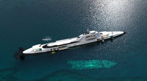 El yate de 800 millones que se convierte en submarino