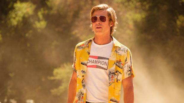 Brad Pitt encarnando a su último personaje
