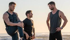 La explosiva rutina de Chris Hemsworth