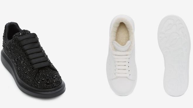 Alexander McQueen tiene las zapatillas más buscadas de 2019