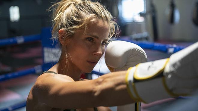 Elsa Pataky durante uno de sus entrenamientos