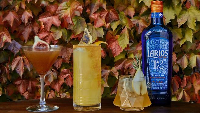 Larios proposes three very appetizing cocktails