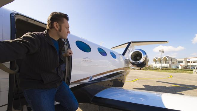 El alquiler de jets privados aumenta cada año entre grandes fortunas y celebrities
