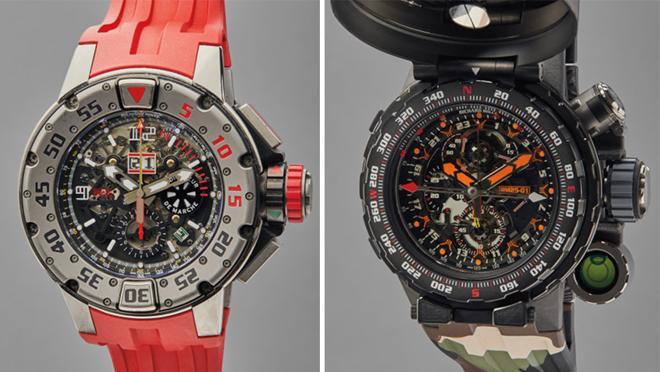 Modelos Richard Mille RM 032 y Richard Mille RM 25-01