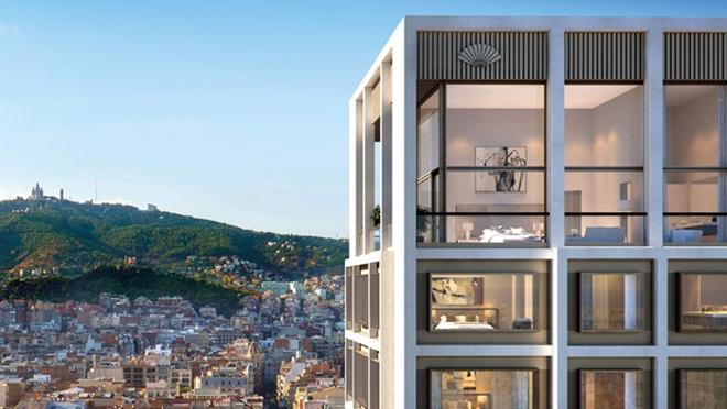 The building has 30 apartments and four penthouses