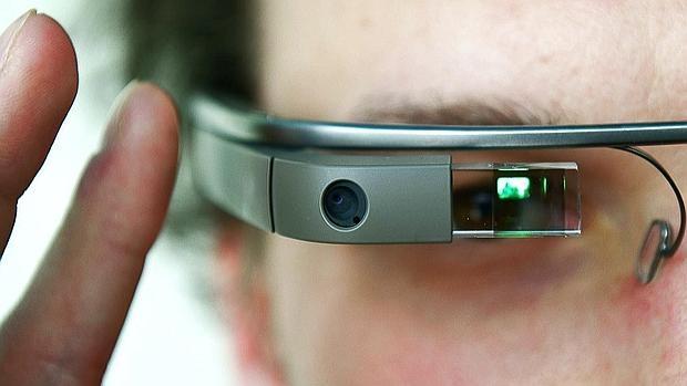 Detalle de Google Glass