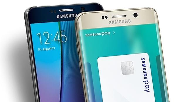 Detalle de Samsung Pay, el sistema de pagos móviles de la firma surcoreana