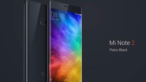 Detalle del Xiaomi Mi Note 2, nuevo terminal de la firma china