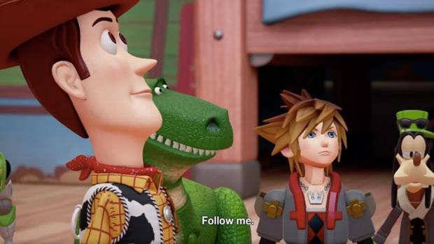 «Kingdom Hearts III» llegará en 2018 acompañado del universo de Toy Story
